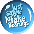 just say no to fake bearings