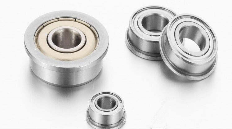 miniature flanged bearings