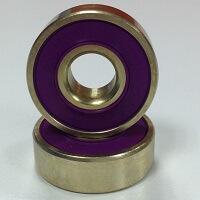 chrome steel golden coating rings