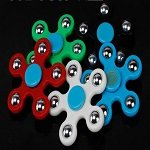5pcs steel ball hand fidget spinner