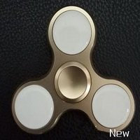 aluminum led flash hand spinner