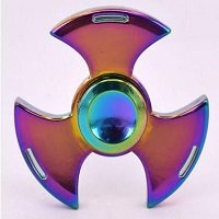 battleax type rainbow hand spinner