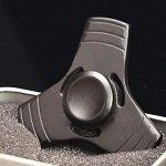 black tri hand spinner fidget