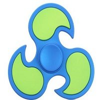 blue ABS cyclone hand spinner