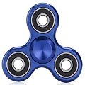 blue aluminum alloy hand spinner