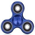 blue aluminum alloy hand spinner