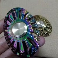 butterfly rainbow hand spinner