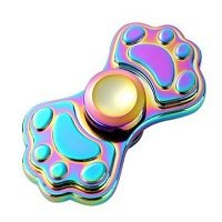 claw type rainbow hand spinner