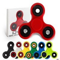 different colors hand spinner