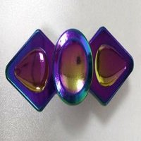 double pointed nail rainbow hand spinner