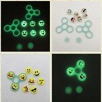 emoji glowing hand spinner