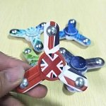 england meisai steel ball hand spinner