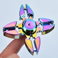 four crabs rainbow hand spinner