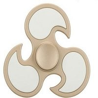 gold ABS cyclone hand spinner