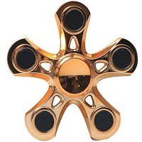 gold plating five hand spinner