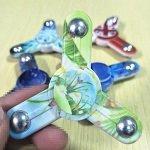 meisai 3pcs steel ball hand spinner