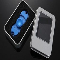metal box package for alloy hand spinner