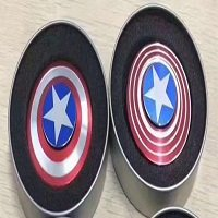 metal box package for captain america hand spinner