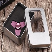 metal box package for metal hand spinner