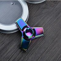 metal box rainbow hand spinner