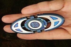 metalworn fidget spinner