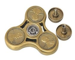 one cent coin fidget spinner