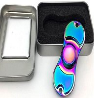 pacakage for aluminum alloy rainbow hand spinner
