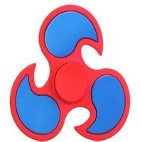 red ABS cyclone hand spinner