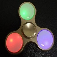 red-blue-green led lights hand spinner