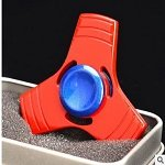 red tri hand spinner fidget