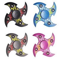 special four fidget spinner with steel balls