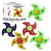 special four hand spinner with steel balls