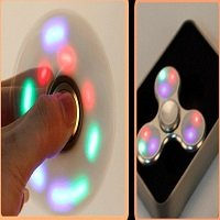 spinning for 3pcs led lights spinner