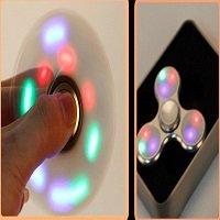 spinning for 3pcs led lights spinner