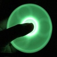spinning in the dark hand spinner